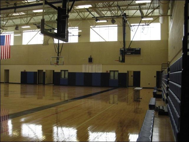 Westbrook's spacious gym